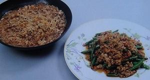 【きょうの料理】栗原はるみのレシピ!マーボー春雨&いんげんの香り炒め