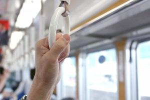 感染対策に「わたしのつり革」のお取り寄せ!電車や・バス通勤 に:スーパーJチャンネル