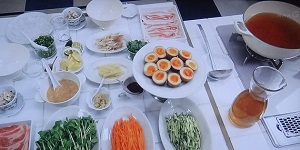 【きょうの料理】栗原はるみの定番ごはんのレシピ!豚肉の夏しゃぶ