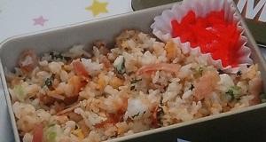 【スッキリ】レンジでチャーハンのレシピ!お弁当レシピの達人たっきーママ