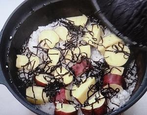 【きょうの料理】栗原はるみの定番ごはんのレシピ!さつまいもと塩昆布のご飯