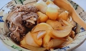 きょうの料理:大原千鶴さんの牛肉とじゃがいもの煮物のレシピ!