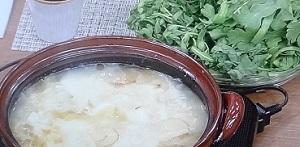 【ごごナマ】わさび塩鶏のねぎトロトロ鍋のレシピ!冷え症対策に