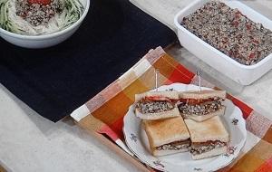 【ごごナマ】トーストサンド&冷ややっこのレシピ!鶏むね肉の香味野菜炒めで!by植木もも子