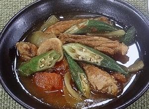 【あさイチ】鶏手羽とオクラのスープカレーのレシピbyほりえさわこ