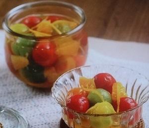 あさイチ:ミニトマトのシロップ漬けのレシピ!