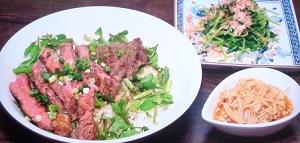 【メレンゲの気持ち】阿佐ヶ谷姉妹のステーキ丼のレシピ!伊野尾慧