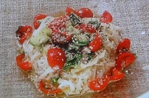 あさイチ:肉みそそうめんのレシピ!日本料理 荻野シェフ