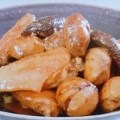 栗と鶏手羽の煮物