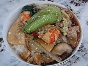 スッキリ:トロトロなめ茸中華丼のレシピ!鳥羽シェフ