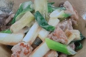 【あさイチ】ねぎと鶏肉のミルクみそ炒めのレシピ!ねぎたっぷり