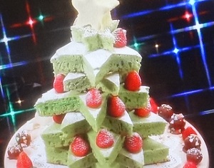 【有吉ゼミ】藤あや子のレシピ!クリスマスツリーケーキ!コストコ食材で