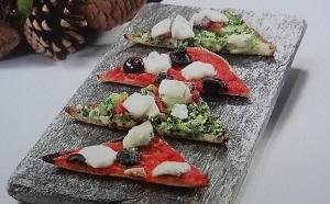 クリスマスピザのレシピ!食パンで【キャッチ/食卓の秘密】