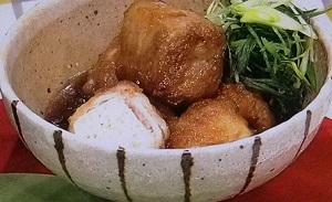 あさいち:牛肉と油揚げでクルクル巻き煮のレシピ!夏梅美智子