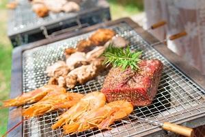 ZIP 秋キャンプ:BBQレシピ!サムギョプサルやシェイキンサラダ、さつまいも!包丁いらず