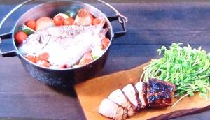 【男子ごはん】鯛とハーブのオーブン蒸しのレシピ!女性でも手軽に楽しめるバーベキューby風森美絵