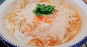 ヒルナンデス:明太豆乳クリームうどんのレシピ!シリコンスチーマーで!梅澤富美男