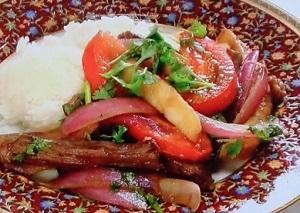 メレンゲの気持ち:ロモ・サルダードのレシピ!アレク(川崎希の夫)のペルー料理
