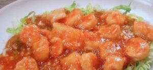 シブ5時:ぷりぷりえびチリソースのレシピ!定食の菱田屋