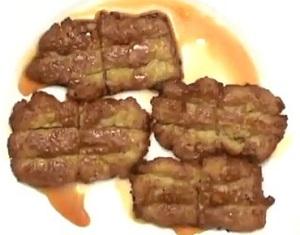レンコンの蒲焼き