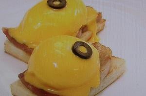 ホテルニューオータニ流のエッグべネティクト風サンドウィッチのレシピ!世界一受けたい授業