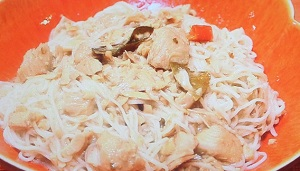 家事ヤロウ:タイカレー缶そうめんのレシピ!余ったそうめんで 激ウマ料理