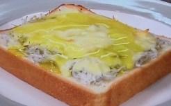 しらすトーストのレシピ