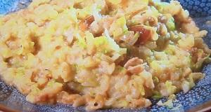 ヒルナンデス:加藤ナナの超簡単リゾットのレシピ!サイコロレストラン