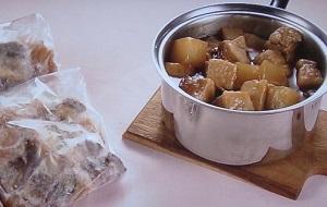 きょうの料理:ゆーママの豚バラと大根の甘辛煮込みのレシピ!つくりおき