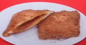 座布団カレーパン