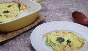 【ZIP お家カフェ】食パンでキッシュのレシピ!