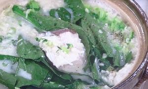 あさイチ:野﨑洋光さんのぶりと青菜のみぞれ鍋のレシピ!
