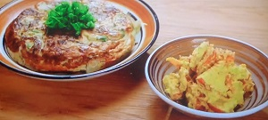 きじまりゅうたの小腹:和風オムレツ&干し柿とリンゴのデザート白あえのレシピ!神楽坂