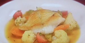 男子ごはん:白身魚のポワレ シャンピニオンソースのレシピ!大人気レシピ一挙紹介SP