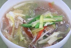 櫻井・有吉THE夜会:サンラータン麺のレシピ!葵わかな