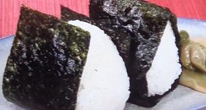 【あさイチ おにぎり】浅草宿六伝授の塩むすびの作り方!動画あり