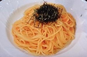 シブ5時:焦がしバターの明太子パスタのレシピ!落合務シェフ