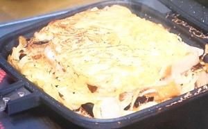 シューイチ:かた焼きそばサンドのレシピ!中丸さんのおうちでキャンプめし