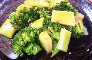 あさイチ:ブロッコリーの焼きナムルのレシピ!コウケンテツ