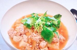 きょうの料理:栗原はるみさんの高野豆腐の鶏そぼろあんのレシピ!