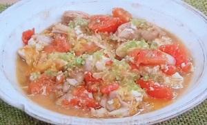 きょうの料理 笠原将弘:トマトと鶏肉の卵とじのレシピ!夏のトマトおかず