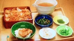 男子ごはん:ニラ辛&長芋の梅和えのレシピ!新感覚スタミナ定食