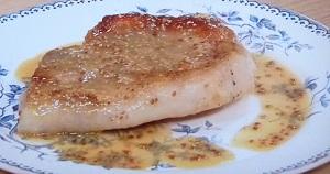 きょうの料理:志麻さんのポークソテー 粒マスタードソースのレシピ!