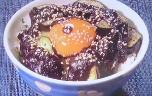ZIP:八丁味噌のナスの田楽丼のレシピ!うまいもんジャーニー