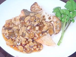 スッキリ:鮭のムニエルのレシピ!鳥羽周作のみんなの食卓!土屋アンナ