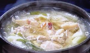 鶏パイタンねぎま鍋