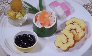 ZIP おせち:簡単おせち3品のレシピ!栗きんとん、伊達巻、なます!mako(マコ)さんが伝授