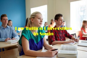 low tuition universities in spain