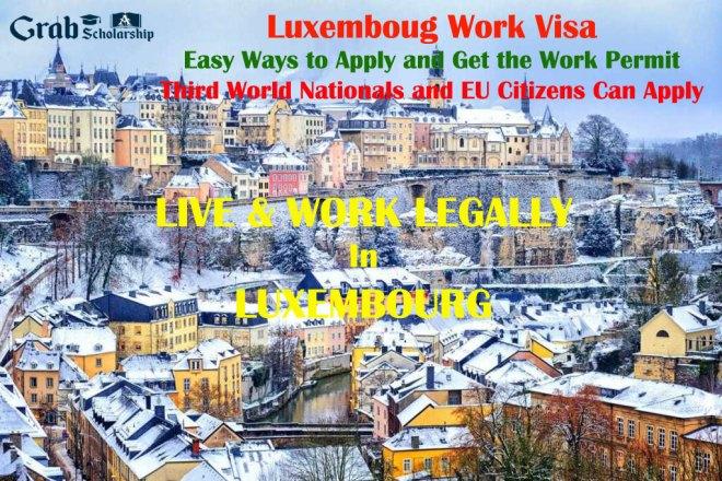 Luxembourg Work Visa