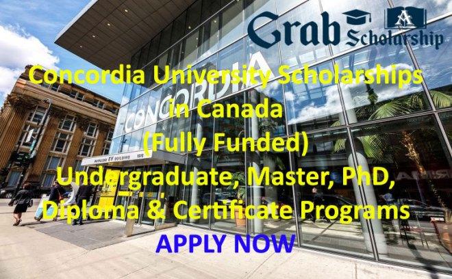 Concordia University Scholarships